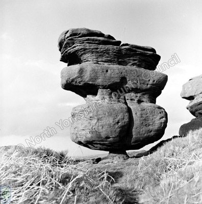 Druid's Idol, Idol Rock, Brimham Rocks